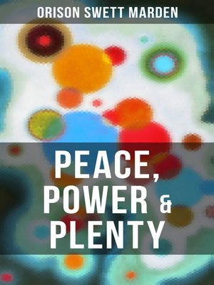 cover image of PEACE, POWER & PLENTY