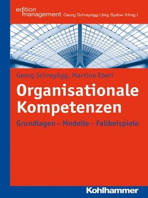 cover image of Organisationale Kompetenzen