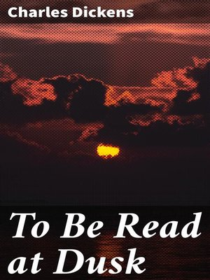 cover image of To Be Read at Dusk