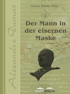 cover image of Der Mann in der eisernen Maske