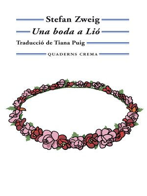 cover image of Una boda a Lió