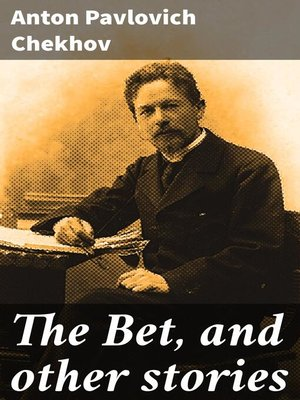 cover image of The Bet, and other stories