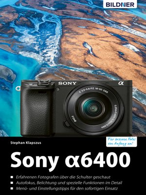 cover image of Sony A6400