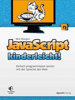 cover image of JavaScript kinderleicht!