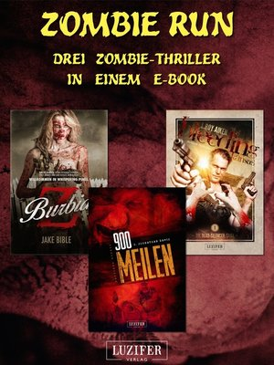 cover image of Zombie Run--3 Zombie-Romane in einem Bundle