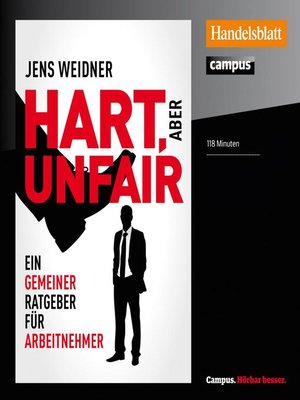 cover image of Hart, aber unfair