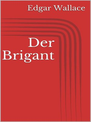 cover image of Der Brigant
