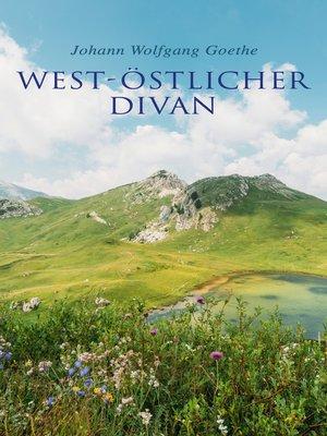 cover image of West-östlicher Divan