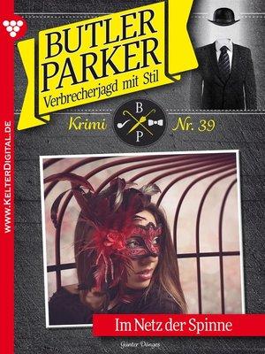 cover image of Butler Parker 39 – Kriminalroman