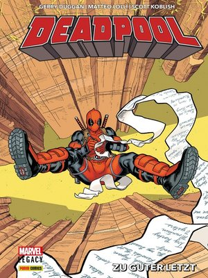cover image of Deadpool Legacy--Zu guter letzt
