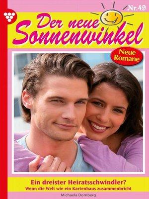 cover image of Der neue Sonnenwinkel 49 – Familienroman