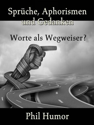 cover image of Sprüche, Aphorismen und Gedanken