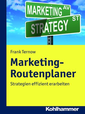 cover image of Marketing-Routenplaner