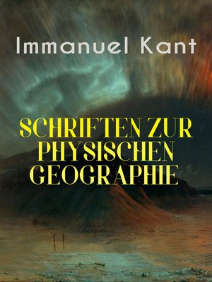 cover image of Immanuel Kant