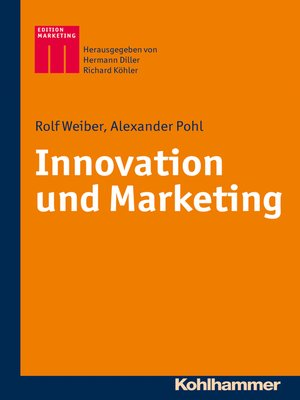 cover image of Innovation und Marketing