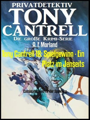 cover image of Tony Cantrell 18