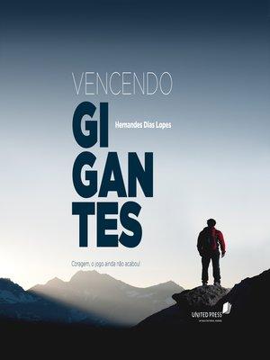 cover image of Vencendo gigantes
