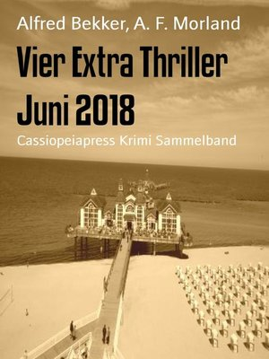 cover image of Vier Extra Thriller Juni 2018