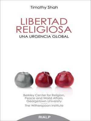 cover image of Libertad religiosa