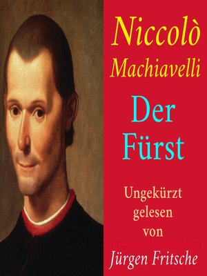 cover image of Niccolò Machiavelli