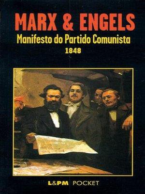 cover image of Manifesto do Partido Comunista