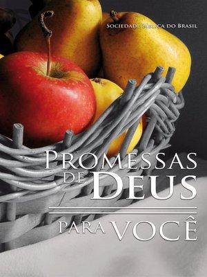 cover image of Promessas de Deus para você