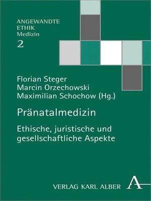 cover image of Pränatalmedizin