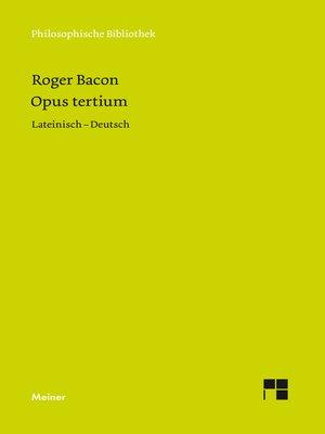 cover image of Opus Tertium