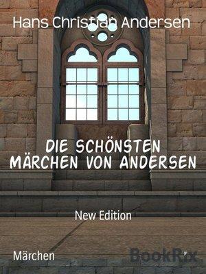 cover image of Die schönsten Märchen von Andersen