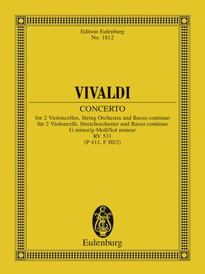 cover image of Concerto G minor