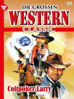 cover image of Die großen Western Classic 33 – Western