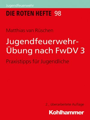 cover image of Jugendfeuerwehr-Übung nach FwDV 3