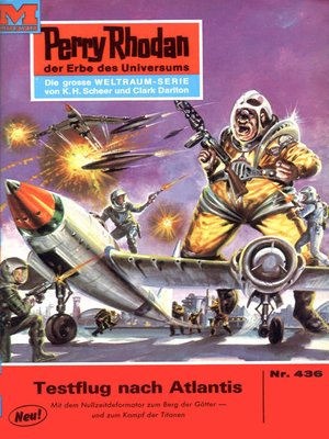 cover image of Perry Rhodan 436