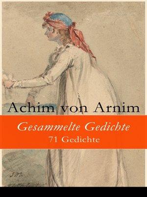 cover image of Gesammelte Gedichte--71 Gedichte