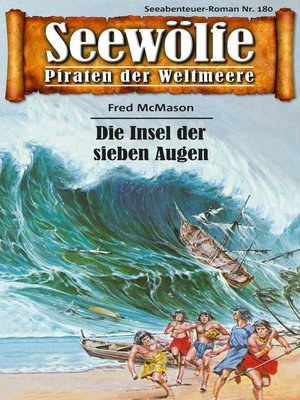 cover image of Seewölfe--Piraten der Weltmeere 180