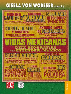 cover image of Vidas mexicanas