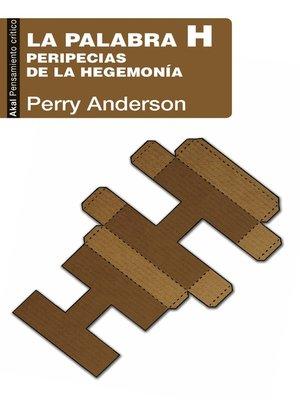cover image of La palabra H