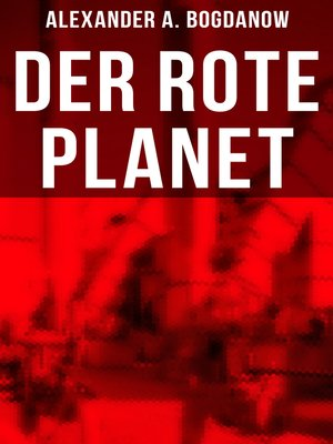 cover image of Der rote Planet