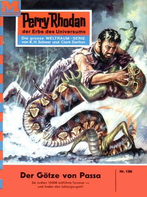 cover image of Perry Rhodan 106