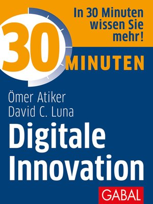 cover image of 30 Minuten Digitale Innovation