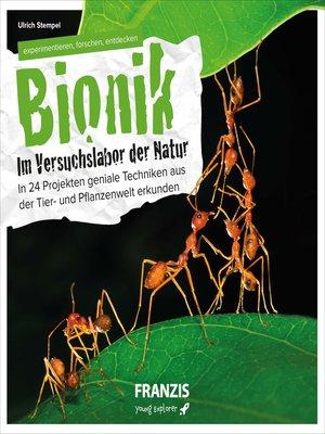 cover image of Bionik--Im Versuchslabor der Natur