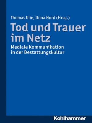 cover image of Tod und Trauer im Netz