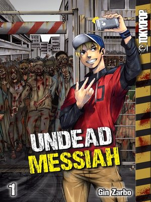 cover image of Undead Messiah manga volume 1