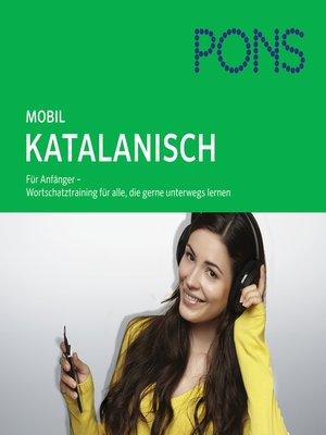 cover image of PONS mobil Wortschatztraining Katalanisch