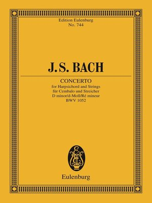 cover image of Concerto D minor