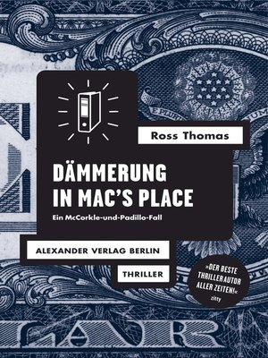 cover image of Dämmerung in Mac's Place
