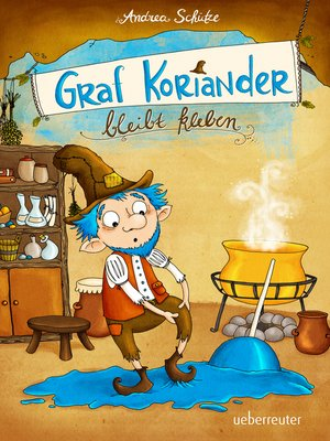 cover image of Graf Koriander bleibt kleben