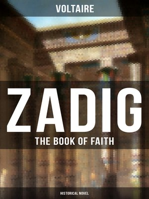 cover image of ZADIG--The Book of Faith (Historical Novel)