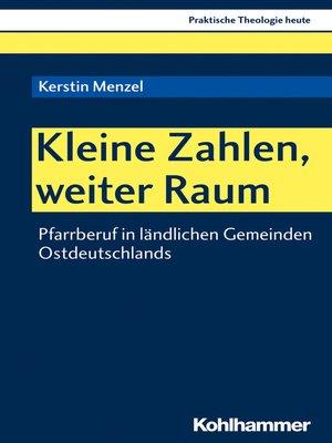 cover image of Kleine Zahlen, weiter Raum