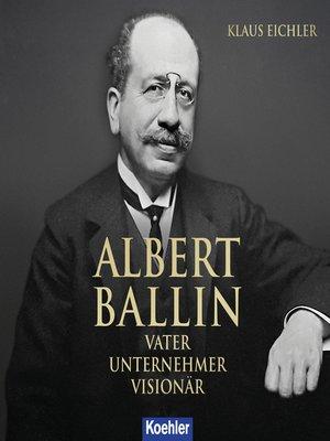 cover image of ALBERT BALLIN